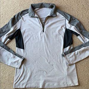 Lululemon Men's Pullover Top sz L 1/4 zip